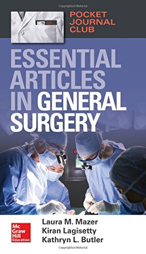 Pocket Journal Club Essential Articles in General Surgery PDF