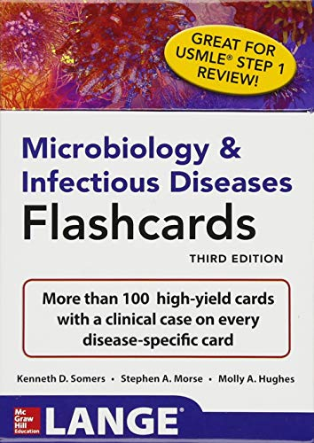 Microbiology & Infectious Diseases Flashcards 3rd Edition PDF