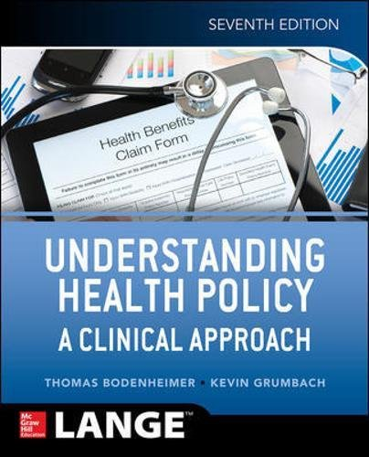 Understanding Health Policy 7th Edition PDF