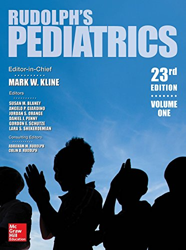 Rudolph's Pediatrics 23rd Edition PDF