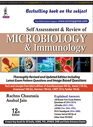 Kết quả hình ảnh cho Self-Assessment and Review of Microbiology and Immunology 12th Edition PDF : (PGMEE)