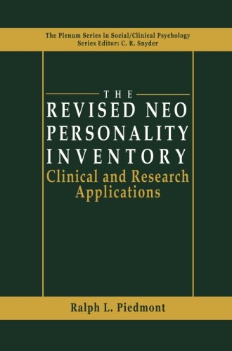 The Revised NEO Personality Inventory  PDF