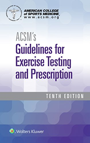 ACSM's Guidelines for Exercise Testing and Prescription 10th Edition PDF