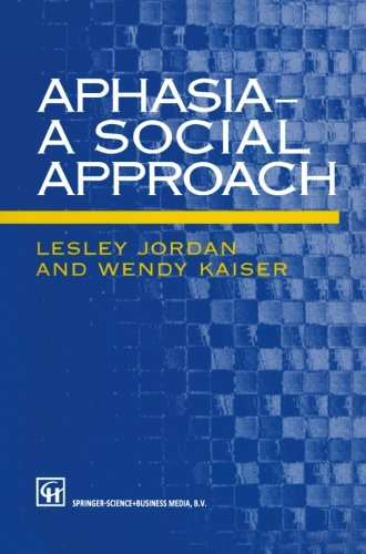 Aphasia - A Social Approach  PDF