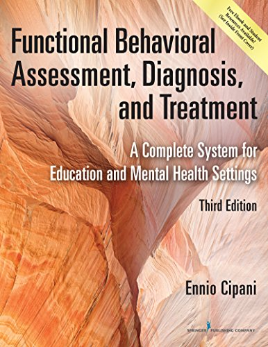 Functional Behavioral Assessment Diagnosis and Treatment 3rd Edition PDF