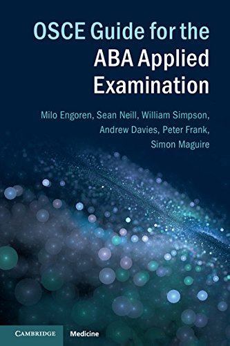 OSCE Guide for the ABA Applied Examination  PDF