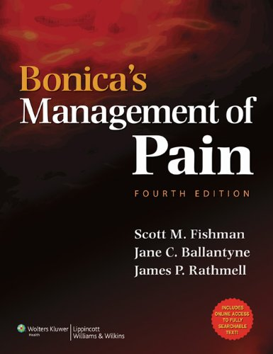 Bonica's Management of Pain 4th Edition PDF