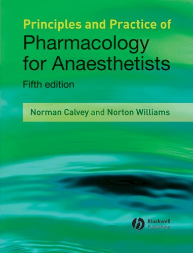 Principles and Practice of Pharmacology for Anaesthetists 5th Edition PDF