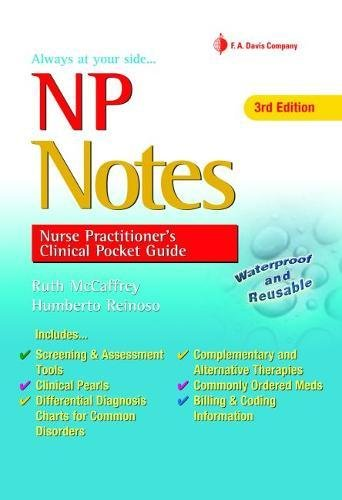 NP Notes Nurse Practitioner's Clinical Pocket Guide 3rd Edition PDF