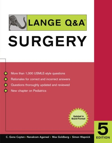 Lange Q&A Surgery 5th Edition PDF