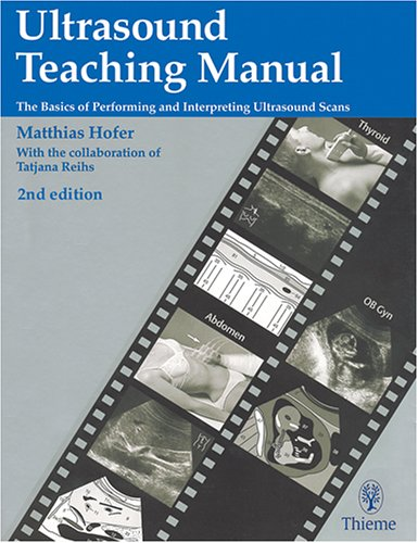 Ultrasound Teaching Manual 2nd Edition PDF