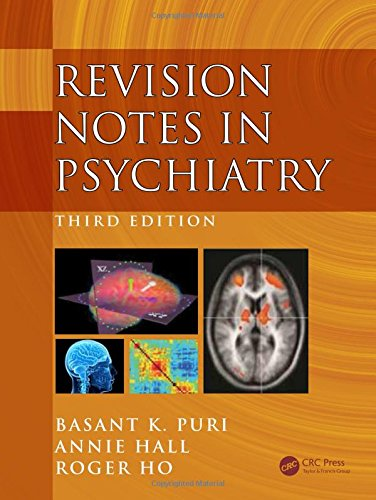 Revision Notes in Psychiatry 3rd Edition PDF