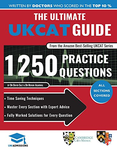 The Ultimate UKCAT Guide 1250 Practice Questions 3rd Edition PDF