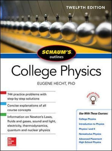 Schaum's Outline of College Physics 12th Edition PDF
