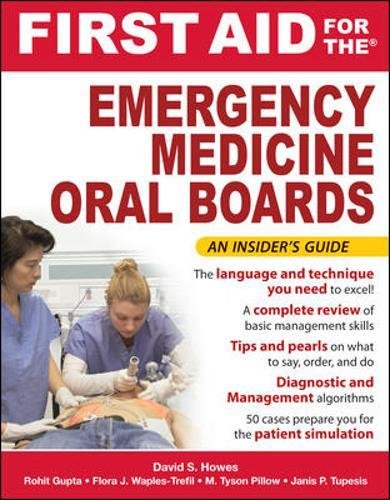 First Aid for the Emergency Medicine Oral Boards PDF