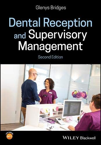 Dental Reception and Supervisory Management 2nd Edition PDF Free Download