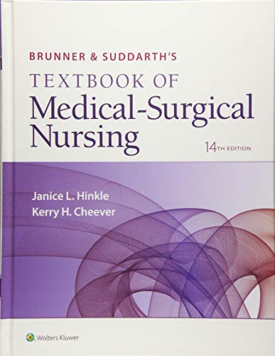 Brunner & Suddarth's Textbook of Medical-Surgical Nursing 2 Volume Set 14th Edition PDF