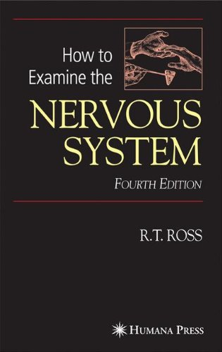 How to Examine the Nervous System 4th Edition PDF