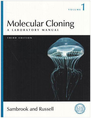 Molecular Cloning A Laboratory Manual 3rd Edition 3 volume set PDF