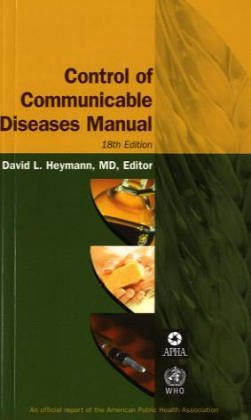 Control Of Communicable Diseases Manual 18th Edition PDF