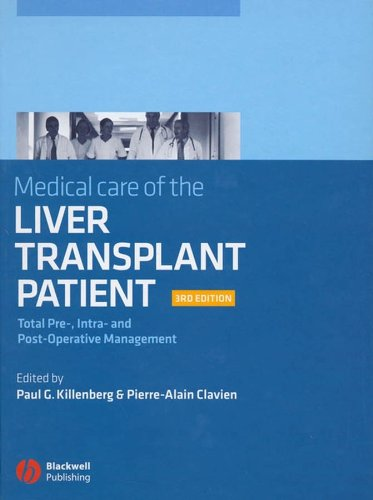 Medical Care of the Liver Transplant Patient 3rd Edition PDF