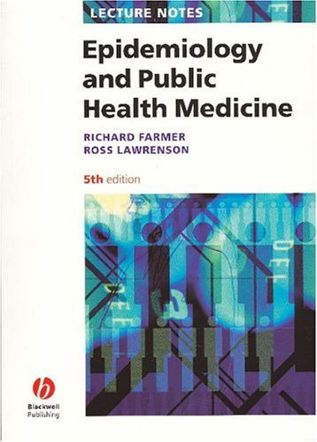 Lecture Notes Epidemiology and Public Health Medicine 5th Edition PDF