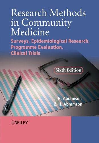 Research Methods in Community Medicine 6th Edition PDF