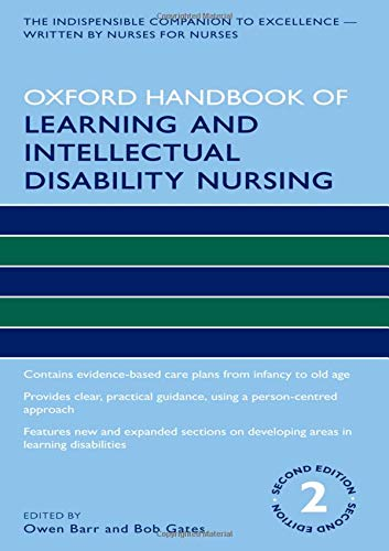 Oxford Handbook of Learning and Intellectual Disability Nursing 2nd Edition