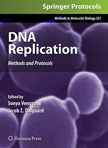 DNA Replication Methods and Protocols PDF Free Download