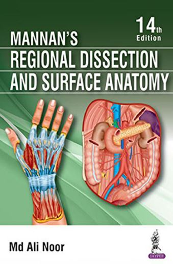 Mannan's Regional Dissection and Surface Anatomy 14th Edition PDF