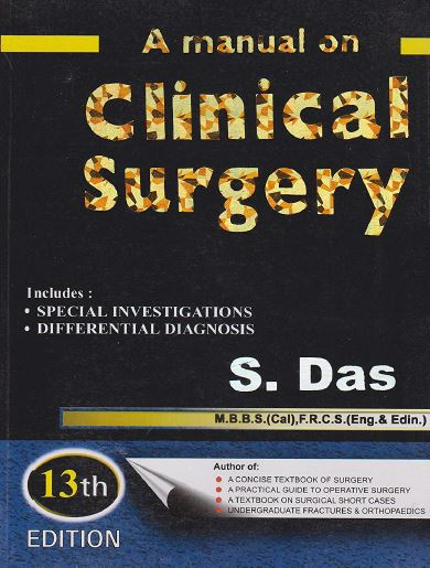 A Manual On Clinical Surgery 13th Edition PDF