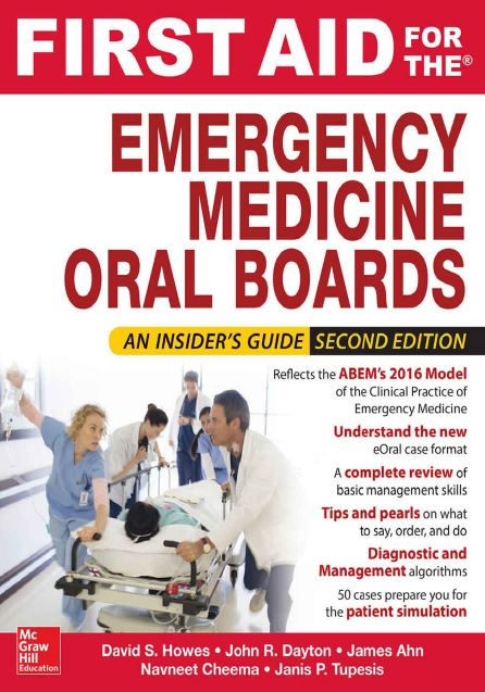 First Aid for the Emergency Medicine Oral Boards 2nd Edition PDF